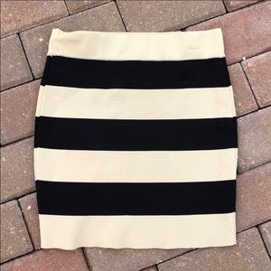 3/$30 Forever 21 Striped Skirt